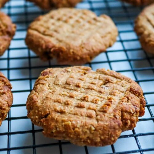 peanut butter oatmeal banana cookies