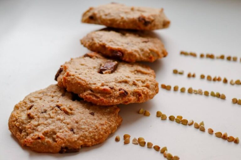 Vegan buckwheat oatmeal cookies (GF)