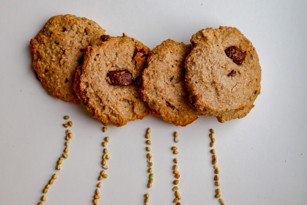 vegan buckwheat cookies