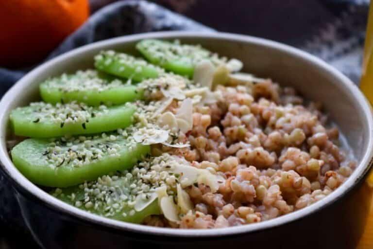 Buckwheat breakfast bowl – vegan & gluten-free