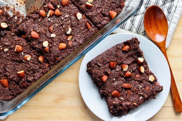 Sweet potato brownies (vegan, gluten-free, sugar-free)