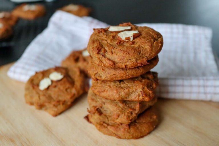 Vegan chickpea cookies | Sugar-free, gluten-free