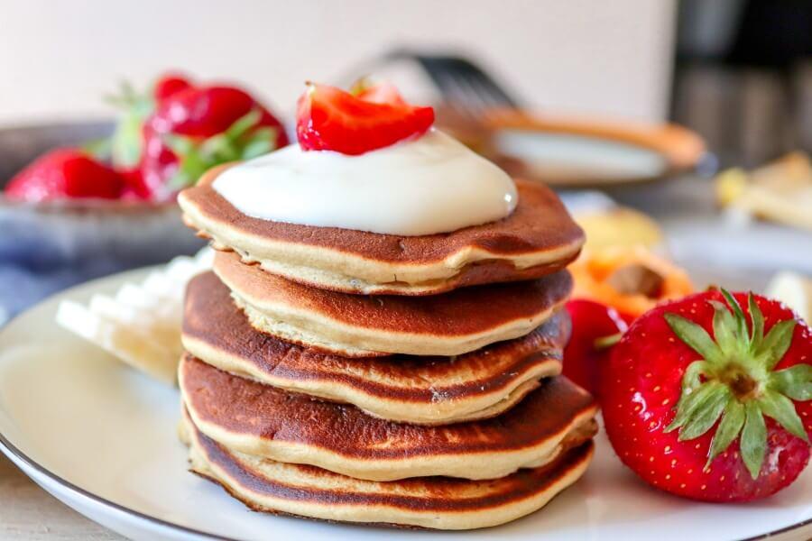 chickpea, flour, pancakes, vegan, gluten-free, dairy-free, oil-free, egg-free, sugar-free