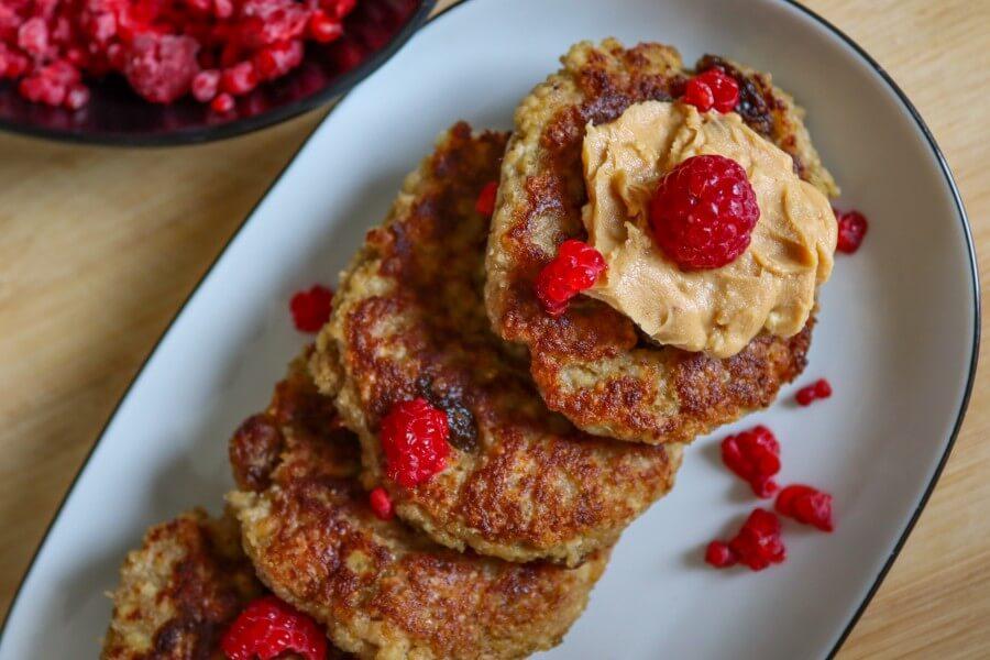 vegan, tofu, pancakes, healthy, sugar-free, gluten-free